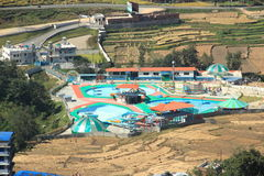 Water Park In Kathmandu. Stock Image
