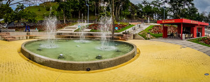 Water park, Manizales city in Colombia Royalty Free Stock Photos