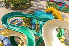 Water park at Phuket island Thai Stock Photo