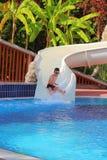 Water Park in Resort. Stock Photos