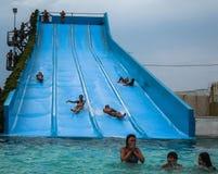 Water Park in the Russian city of Anapa, Krasnodar region. Royalty Free Stock Image