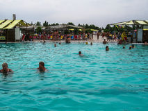 Water Park in the Russian city of Anapa, Krasnodar region. Royalty Free Stock Images