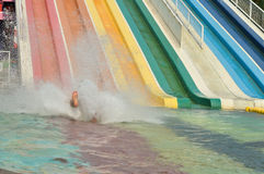 Water Park. SIAM PARK CITY  BANGKOK - Travel Thai Asia Royalty Free Stock Photography
