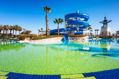 Water park slide Stock Photography