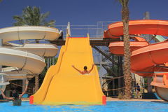 The water park Royalty Free Stock Photos