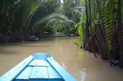 Water path in Viet Nam Royalty Free Stock Images