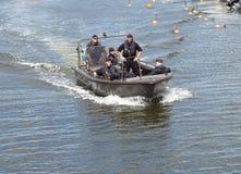Water patrol. Royalty Free Stock Photos