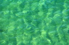 Water Patterns. Water ripples in the ocean Stock Photos