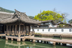 Water pavilion ancestral temple(Shuiting ancestral temple) Stock Images