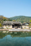 Water pavilion ancestral temple(Shuiting ancestral temple) Stock Photos