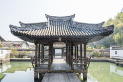Water pavilion ancestral temple(Shuiting ancestral temple) stock photography