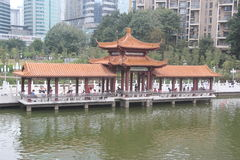 Water Pavilion IN SHENZHEN Stock Images