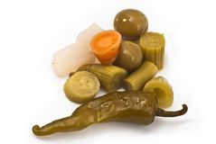 Water pickle Royalty Free Stock Image