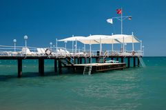Water pier Stock Photography