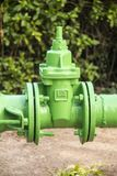 Water pipe and valve Stock Photos