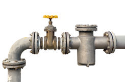 Water pipe valve Royalty Free Stock Images