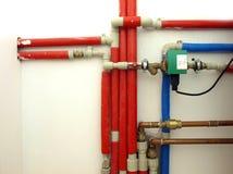 Water pipeline Stock Image