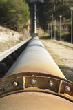 Water pipeline Royalty Free Stock Images