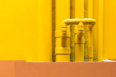 Water pipelines Royalty Free Stock Image