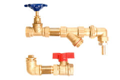 Water pipes Stock Image