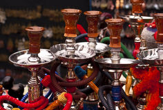 Water Pipes - Shisha, Nargile, Hookah... Stock Images