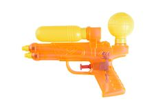 Water pistol Royalty Free Stock Photo