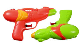 Water Pistols Royalty Free Stock Photos