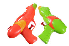 Water Pistols Royalty Free Stock Images
