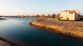 Water Plane In El Gouna In Egypt Royalty Free Stock Photos