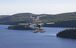 Water planes Stock Image