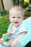 Water Play Summer Baby Child Royalty Free Stock Photos