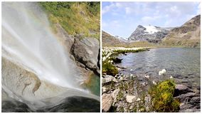 A water poetry montage. Water is the most precious asset on the planet, montage stock video