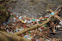 Water pollution royalty free stock images