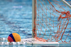 Water polo. The ball of water polo Stock Photos