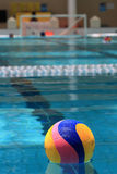 Water polo. The ball of water polo Royalty Free Stock Images
