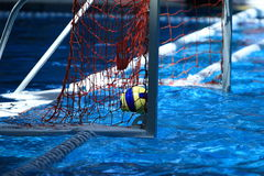 Water polo. The ball of water polo Royalty Free Stock Image