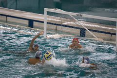 Water Polo Action Royalty Free Stock Photos