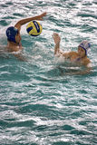 Water Polo Action Royalty Free Stock Images