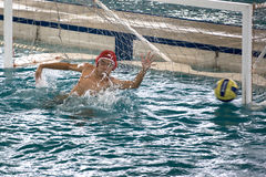 Water Polo Action Stock Photo