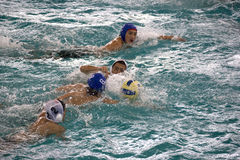 Water Polo Action Royalty Free Stock Photography