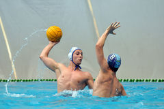 Water-polo action Royalty Free Stock Image