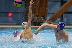 Water polo attack Stock Photo