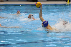 Water polo attack Royalty Free Stock Photo
