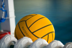 A water polo ball Stock Images