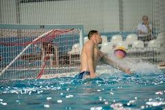 Water polo caliente Fotos de archivo