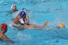 Water Polo / Centers Struggle royalty free stock photo