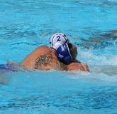 Water Polo / Centers / Tattoo Royalty Free Stock Photo