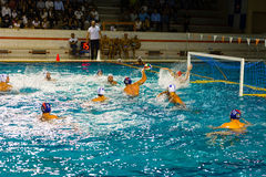 Water polo Royalty Free Stock Image