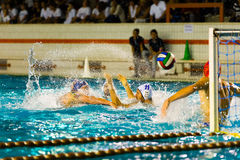 Water polo Royalty Free Stock Photography