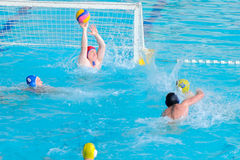 Water polo competition Stock Photography